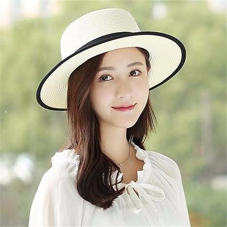 GAOQIANGFENG Sombrero de sombrilla para Mujer UPF 50+ Outdoor ... 1598d8aa0ce3