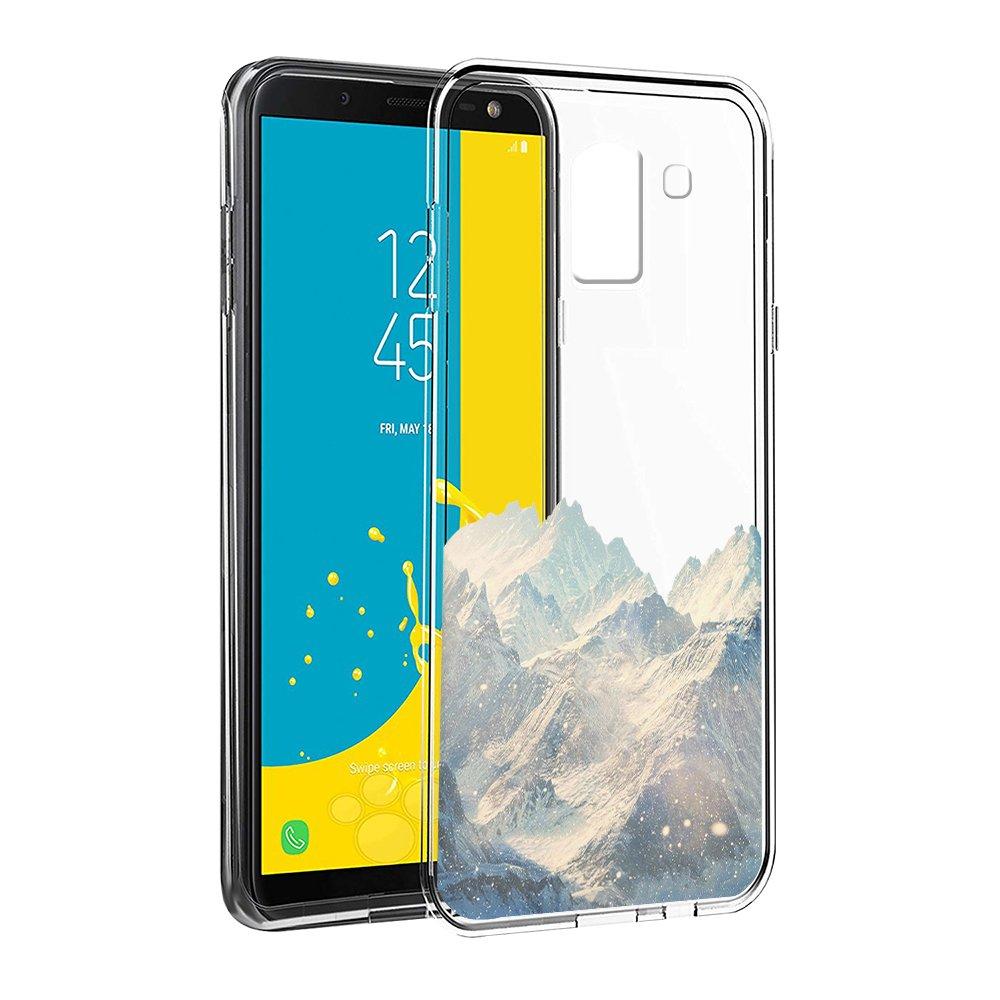 Eouine Funda Samsung Galaxy J6 2018, Cá rcasa Silicona 3D Transparente con Dibujos Diseñ o Suave Gel TPU [Antigolpes] de Protector Fundas para Movil Samsung J6 2018-5,6 Pulgadas (Pingü inos) 6 Pulgadas (Pingüinos) ZhuoFan Store J6-Ktm