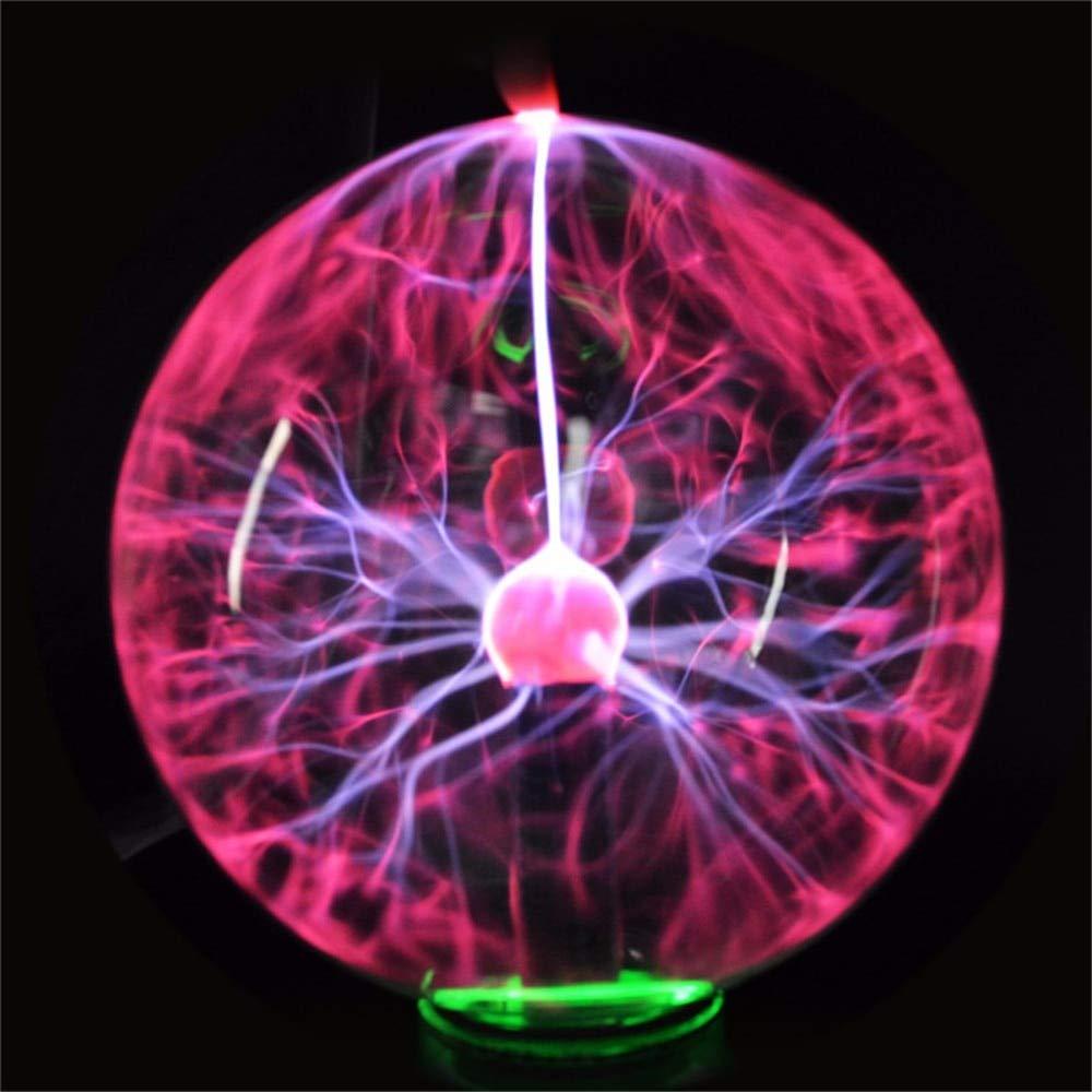 JohnnyBui - NEW 5 Inch Crystal Plasma Music Ball Night Light Magic Glass Novelty Lighting ball Light Plasma Table Lamp Home Decor
