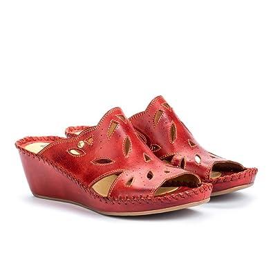 Pikolinos Keil Pantoletten Margarita 943-1606 Damen Schuhe Clogs