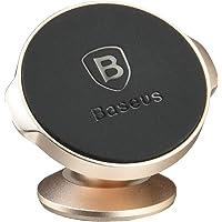 Suporte Magnético Adesivo 360º Small Ears, Baseus, SUER-B0V, Dourado