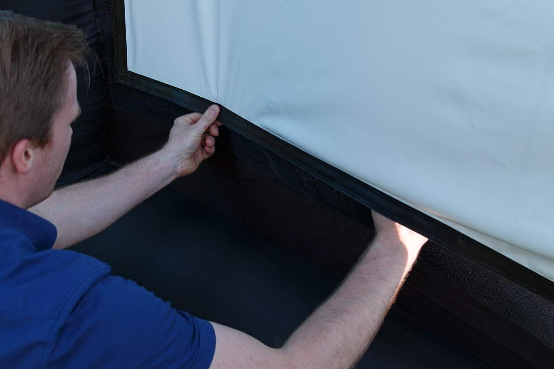 Pantalla inflable proyectable de interior o exterior FUBUCA 320x250cm 350w motor