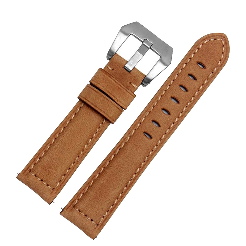 zhuolei 20 mm本革時計バンドストラップクイックリリースコネクタ交換用for Huawei Watch 2  B074P6CT79