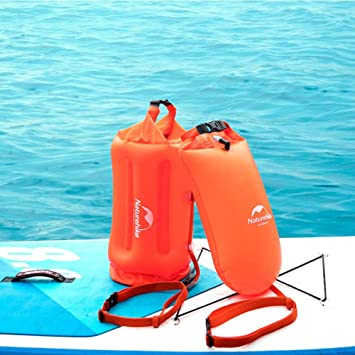 Flotador de natación,boya de seguridad natacion para natación y bolsa seca para nadadores de aguas abiertas,triatletas,kayakers y buceadores para ...