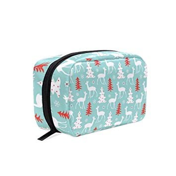 fbbe481eb686 Amazon.com : Nsync Christmas CD square cosmetic bag compartment ...