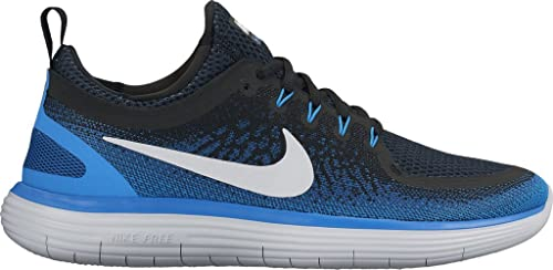 fd82b668a17d8 Image Unavailable. Image not available for. Colour  Nike Men s Free Rn  Distance 2 Armory Navy White Black Running Shoe ...
