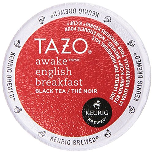 Tazo Tazo Awake English Breakfast Black tea, K-Cup, 16ct, 68.8 fl oz -