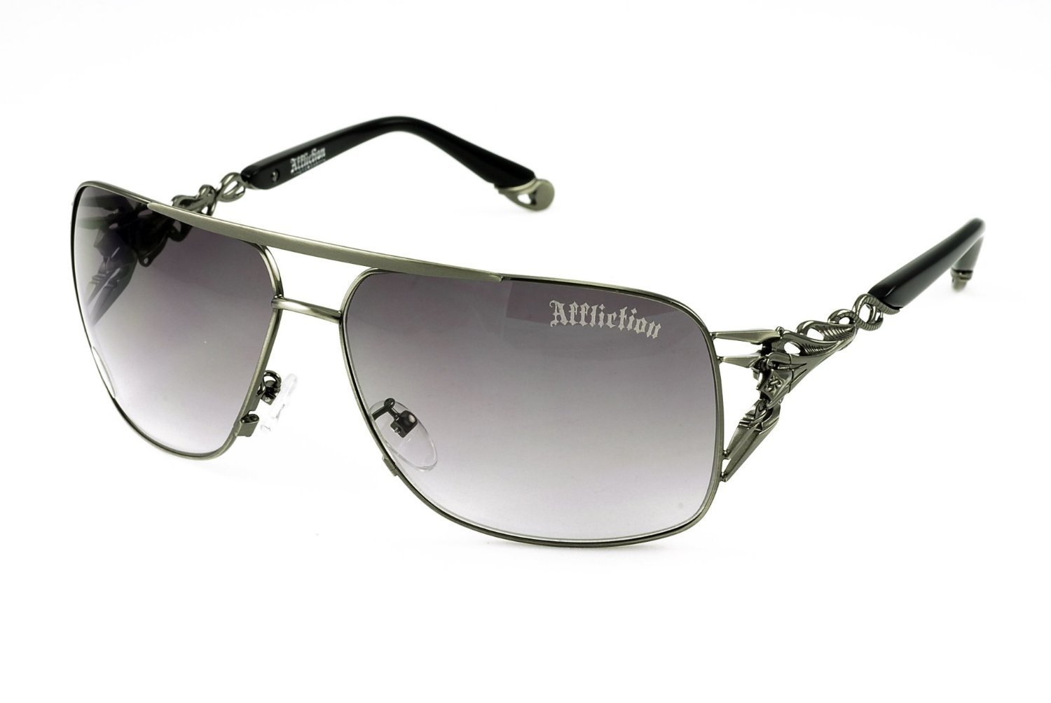 Affliction Sunglasses Rex Black Living Healthy Products AZ_154_AFSREXBLK