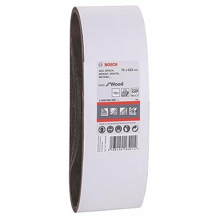 75x533mm G60x10 BOSCH 2608606081 Banda X440