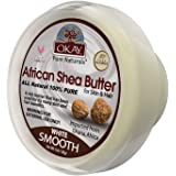 Okay 100% Natural African Shea Butter White Smooth Deep Moisturizing Restores Moisture To Dry Damaged Skin Reduces Skin…