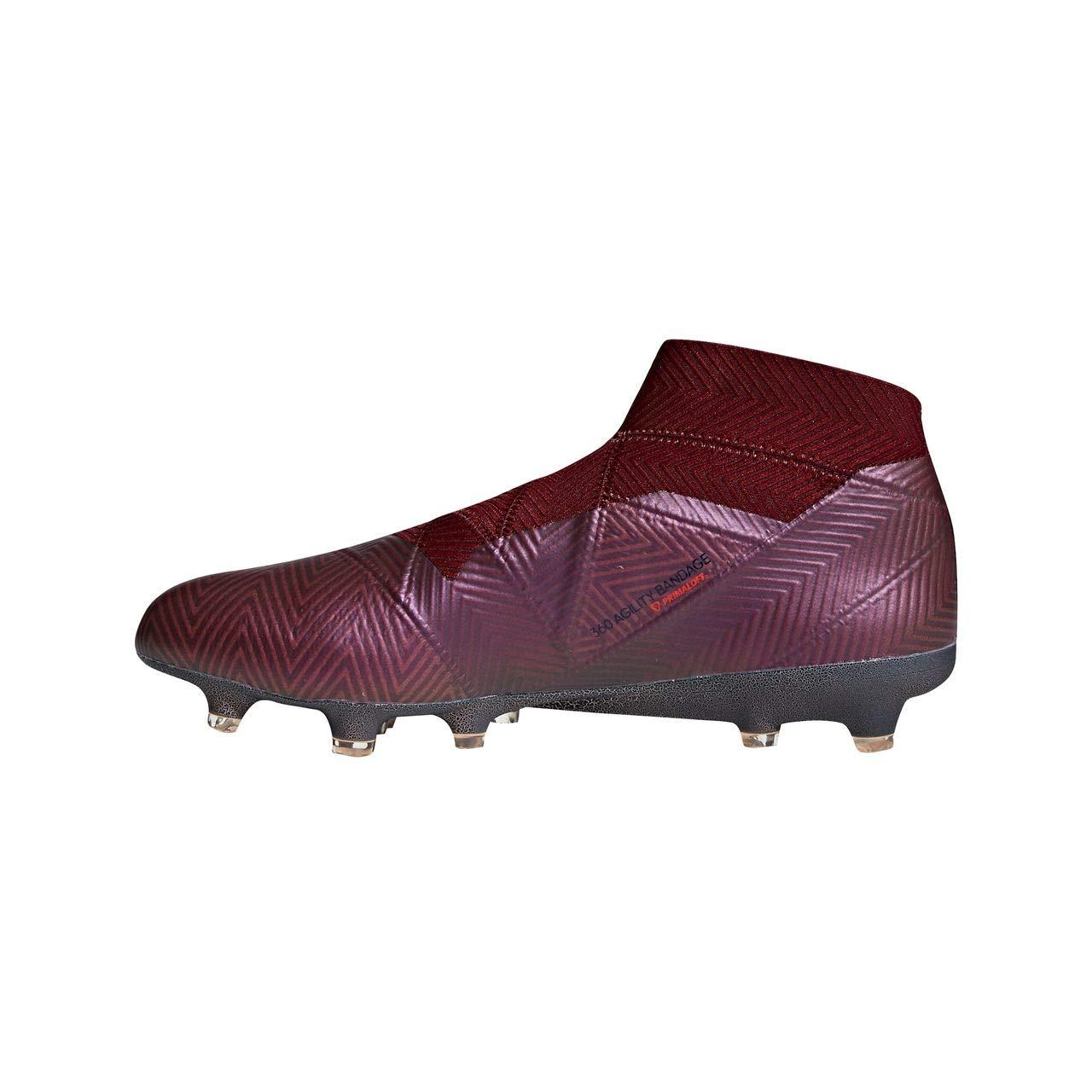 size 40 dcc4c ad00f adidas Nemeziz 18+ FG, Bota de fútbol, Maroon-Legend Ink-Collegiate  Burgundy, Talla 12 UK (47 1 3 EUR)  Amazon.es  Zapatos y complementos