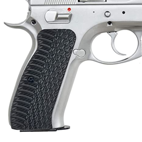 Guuun Grips CZ 75 Grips G10 Slim Aggressive Panels OPS Snake Texture Full  Size CZ75 SP-01 Tactical Pistol Grips