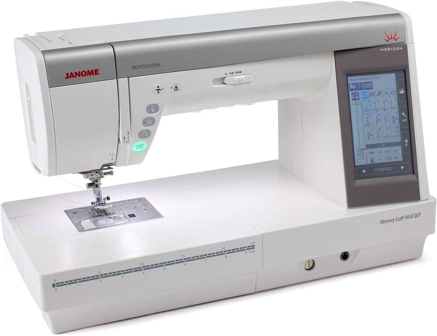 Janome Craft 9450 QCP Professional - Máquina de coser: Amazon.es ...