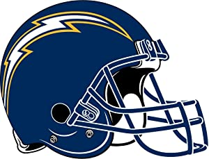 - San Diego Chargers NFL Football Sport Decal 14'' X 10''