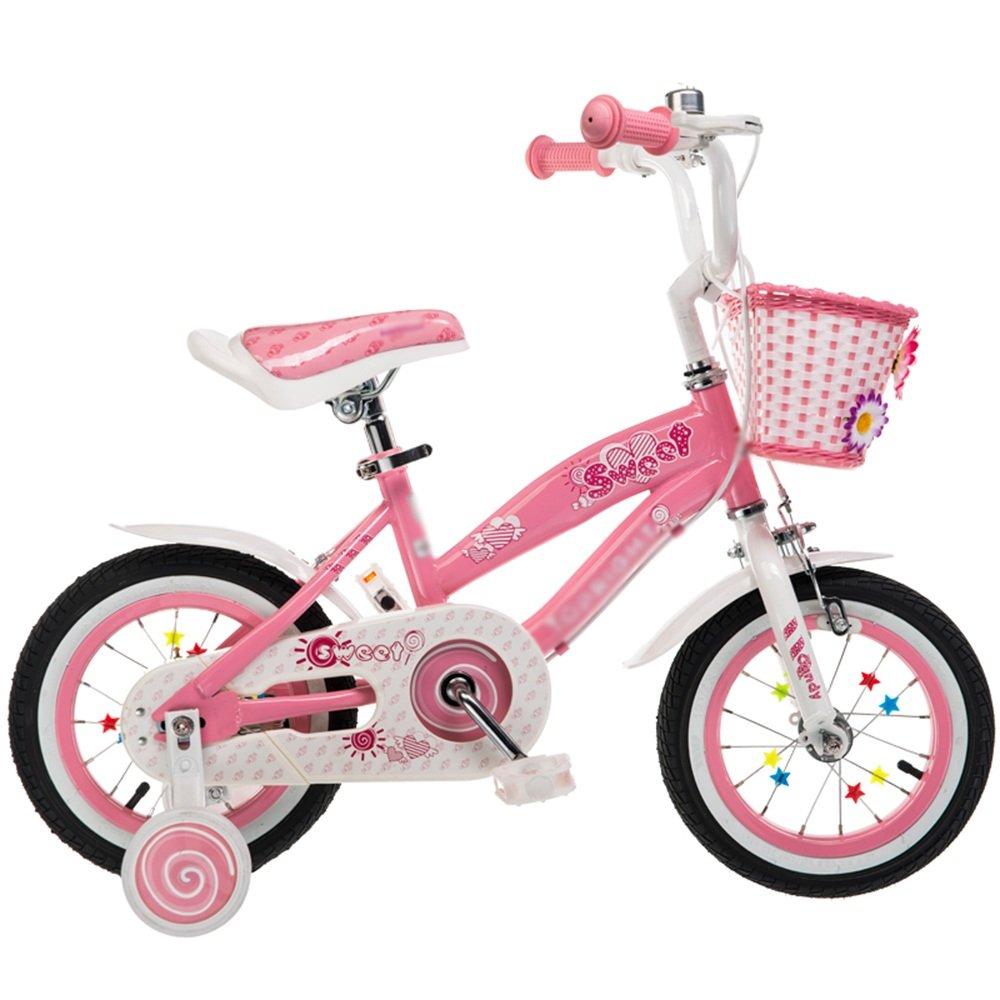 ZHIRONG 子供用自転車 トレーニングホイール付きの少年の自転車と少女の自転車 12インチ、14インチ、16インチ、18インチ 子供用ギフト ( サイズ さいず : 18 inches ) B07CRJGVZ3 18 inches 18 inches