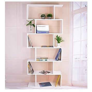 Panana S Storage Display 6 Shelves Room Divider Unit Chest Bookshelf Bookcase White