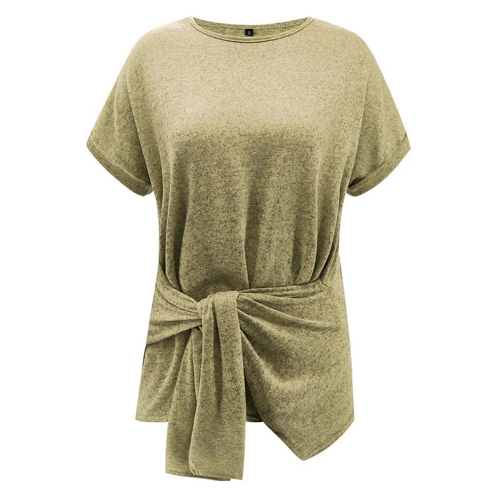 SERYU White Wrap Blouse Women Long Tee Hawaiian Blouses
