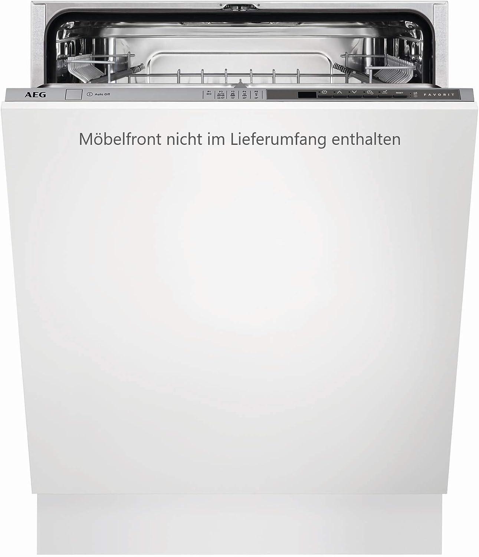 AEG FSE53600Z Totalmente integrado 13cubiertos A+++ lavavajilla - Lavavajillas (Totalmente integrado, White,Not applicable, Full size (60 cm), Plata, LCD, Frío, Caliente)