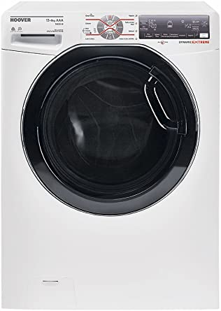 Hoover WDWFT 4138AH-01 Independiente Carga frontal A Negro, Blanco ...