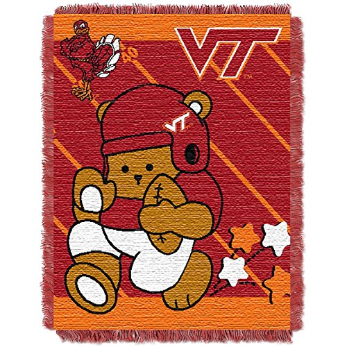 The Northwest Company Virginia TECH Hokies Fullback Baby Triple Woven Jacquard Throw