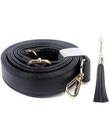 c92ef266b569 Purse Strap Replacement - Adjustable Microfiber Leather for Crossbody Bag  or Handbag - 34-59