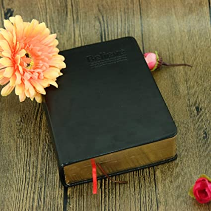 Party Favors - Party Favor Leather Cover Bible Notebook Vintage Thick Paper Notepad Hard Copybook Diary