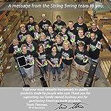 String Swing Flute Hanger - Flat Wall Holder for