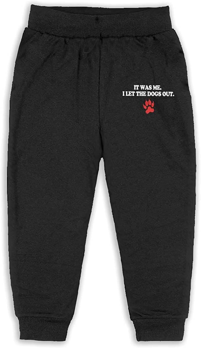 SOPIPOZ It was Me I Let The Dogs Out Sports Gift Pets Humor Boys Active Sweatpants Joggers Jersey Unisex Pant