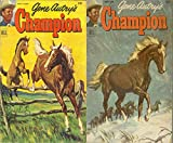 Gene Autry's Champion. Issues 7 and 8. Features the wonder horse. Golden Age Digital Comics Wild West Western