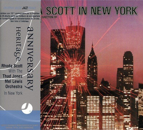 In New York With Thad Jones & Mel Lewis by Rhoda Scott (2013-05-03)