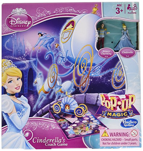 Disney Princess Pop-Up Magic Cinderella's Coach (Disney Cinderella Coach)