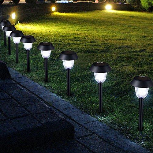 Litom Path Light Solar Garden Light Waterproof Solar