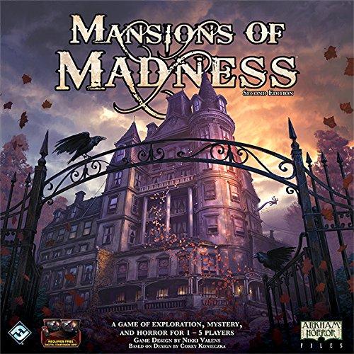 Comprar Fantasy Flight Games - FFGMAD20 - Mansions of Madness - Juego de Mesa, Segunda edición (Juego Principal)