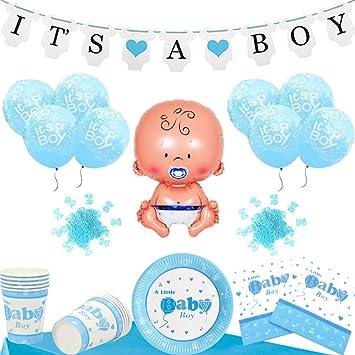 Baby Shower Decoracion Set Para Un Its A Boy Niño Fiesta