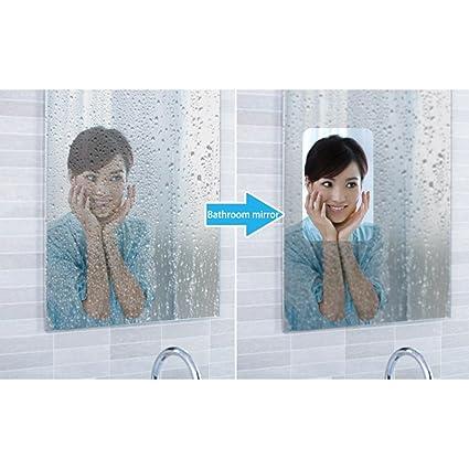 Amazon Com Hoho 60 X33ft Roll Anti Fogging Pet Film Shower Mirror