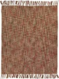 Manual Woodworkers and Weavers Textured Candler Paprika Throw - Best Reviews Guide