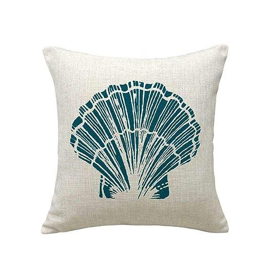 Johlycao - Funda de cojín de algodón, diseño de Caballito de ...