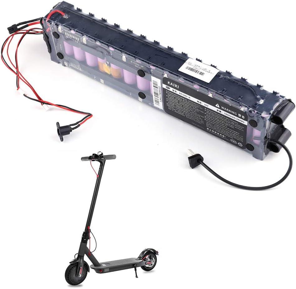 Festnight Batería de Repuesto para Xiaomi M365 Recargable a batería de Litio 36 V 7800 mAh para M365 Pro Smart Scooter eléctrico Patinete eléctrico Plegable