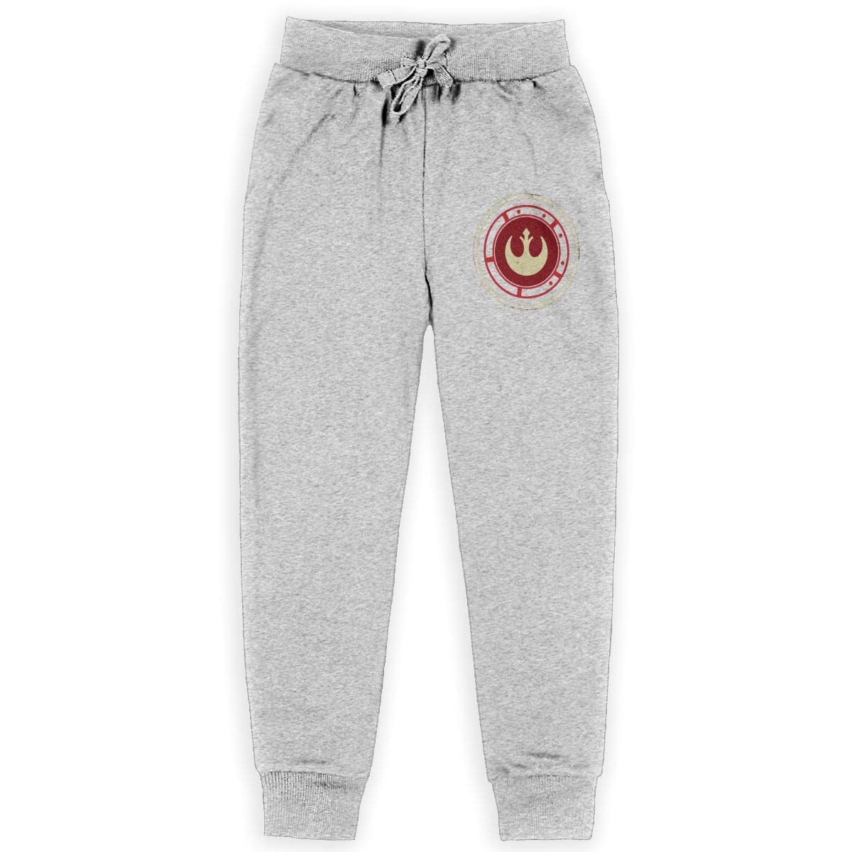 Kim Mittelstaedt Rebel Force Boys Big Active Basic Casual Pants Sweatpants for Boys Gray