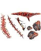 特殊メイク用タトゥーシール #9 縫合のタトゥーシール