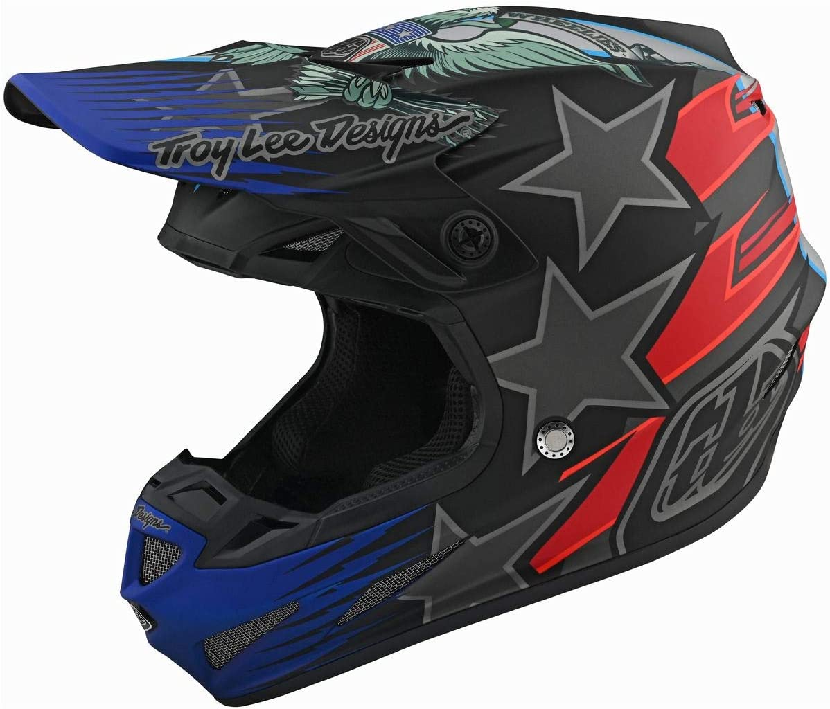 Liberty LE Black Large Troy Lee Designs 2019 SE4 Composite Helmet with MIPS