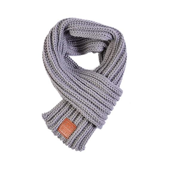 in vendita all'ingrosso stile squisito nuovi stili zhangcr - Sciarpa - ragazzo Grey Taglia unica: Amazon.it ...