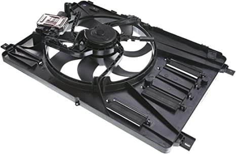 Cooling Fan Assembly Compatible with Volvo XC60 XC70 S80 S60 V60 Cross Country