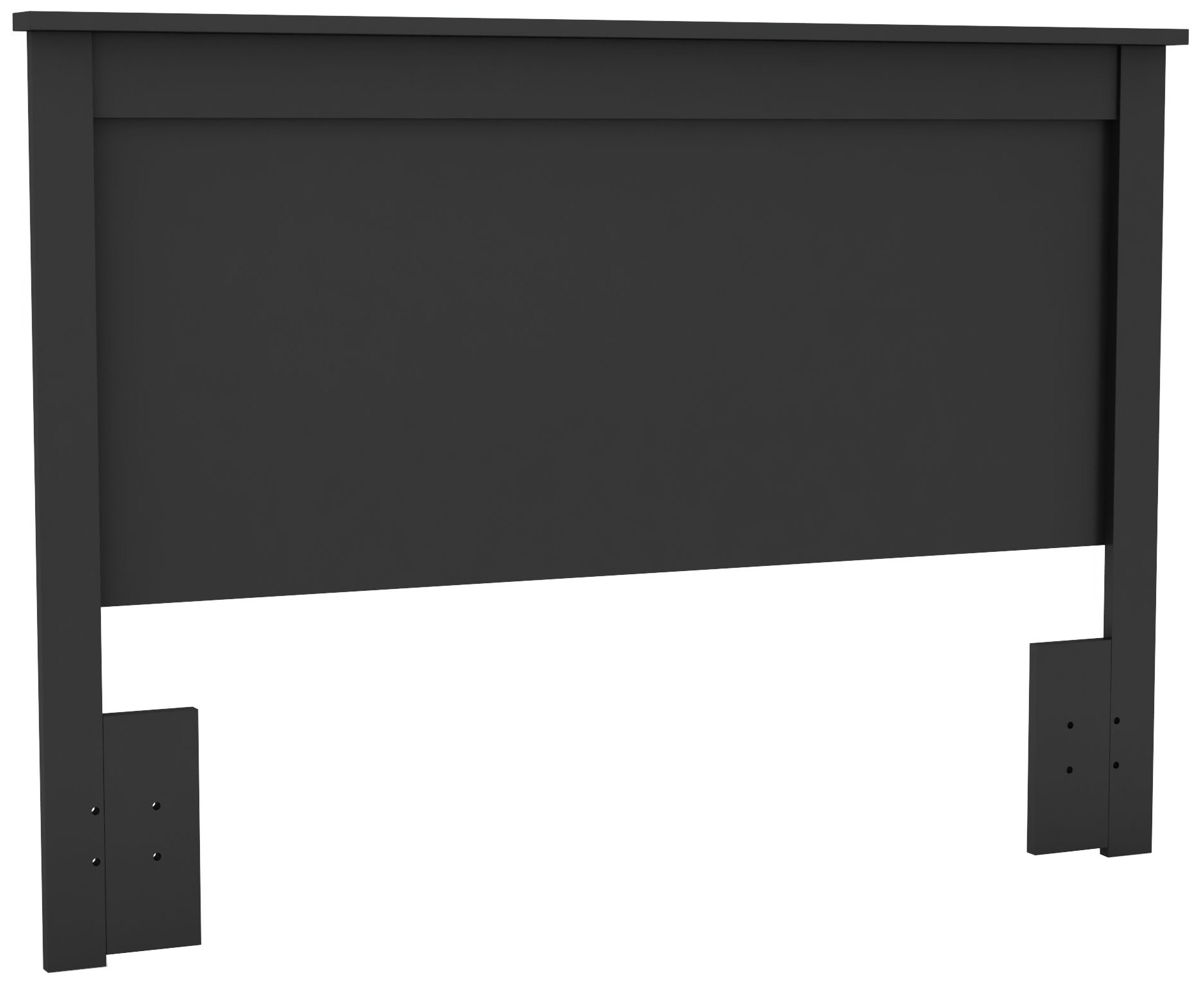 South Shore Vito Headboard Full/Queen , 54/60-Inch, Black by South Shore