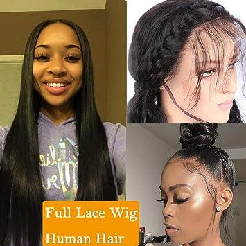 Pelucas Mujer Pelo Corto Pelucas Lace Front [Full Head Lace ...