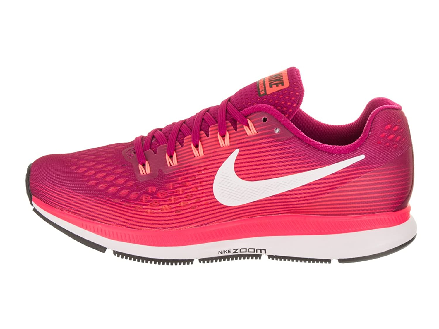 Amazon.com | NIKE Women's Air Zoom Pegasus 34 Sport Fuchsia/White Lava Glow Running  Shoe 10.5 Women US | Road Running