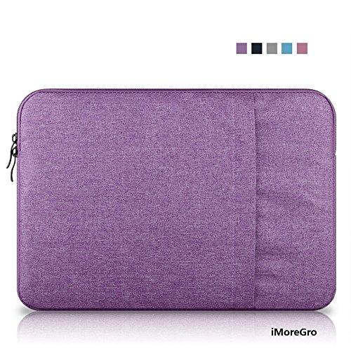 iMoreGro 12 Inch Neoprene Sleeve Case Cover Zipper Briefcase Bag for MacBook 12-inch & MacBook Air 11.6