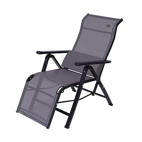 ZXQZ Silla plegable - Sillón reclinable Silla plegable para ...