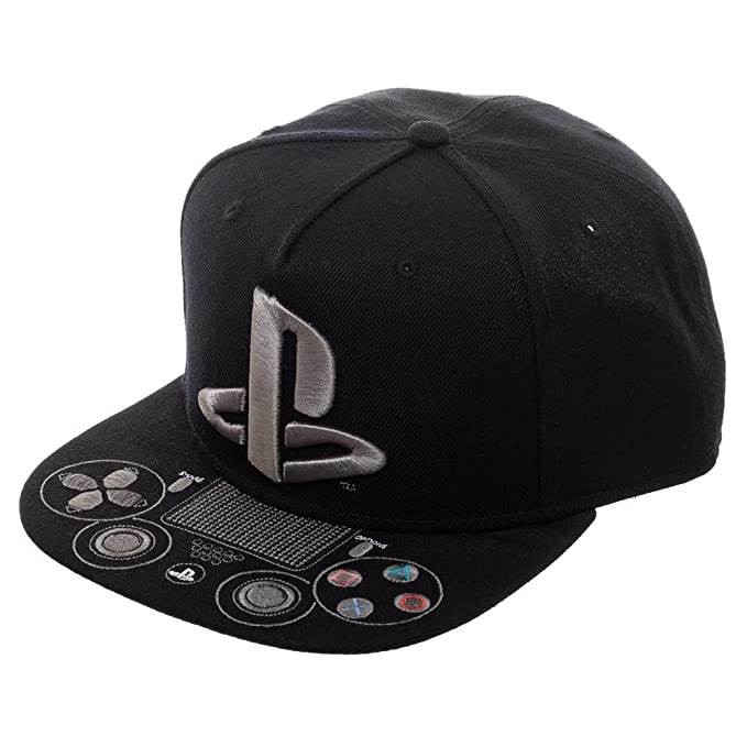 detailed look 8d0d3 0f24f Image Unavailable. Image not available for. Color  Playstation Logo  Controller Video Game Men s Hat