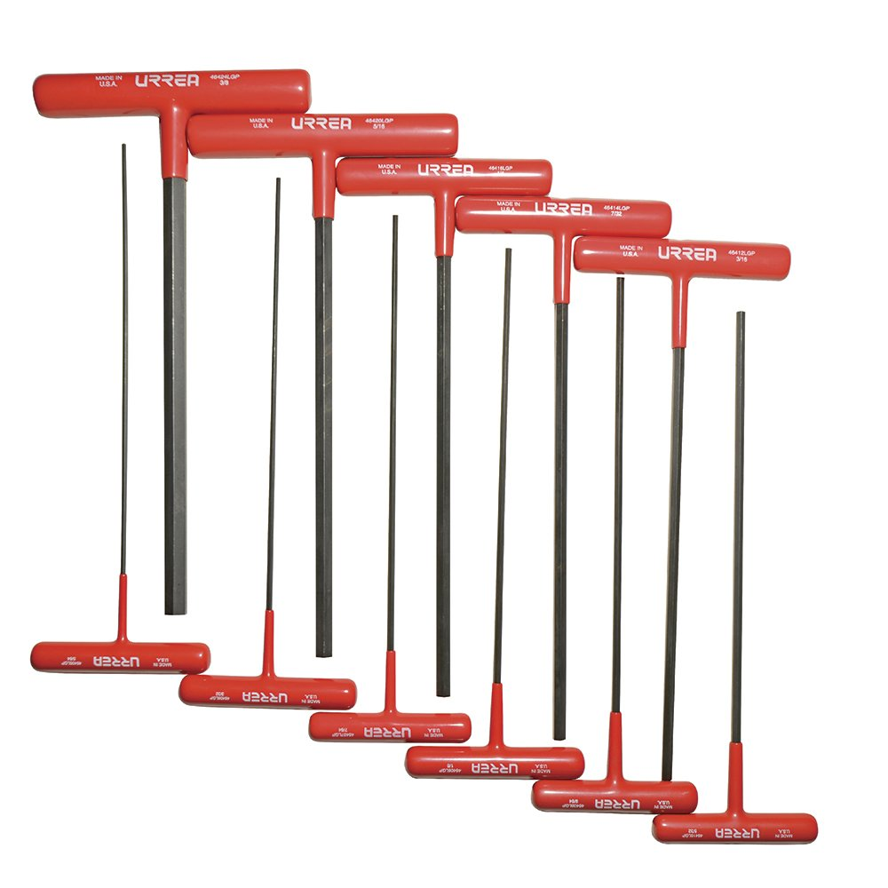 Urrea 4967LGP Set Ball End Wrench Set 11-Piece